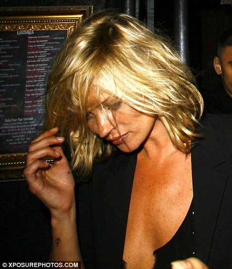 Kate Moss gets on the haircut bandwagon