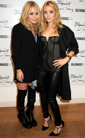 marykate and ashley olsen hairstyles. Mary-Kate and Ashley launch Elizabeth and James in London