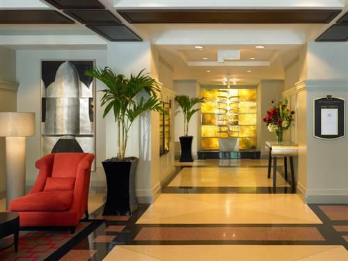 Allerton Hotel Chicago Lobby