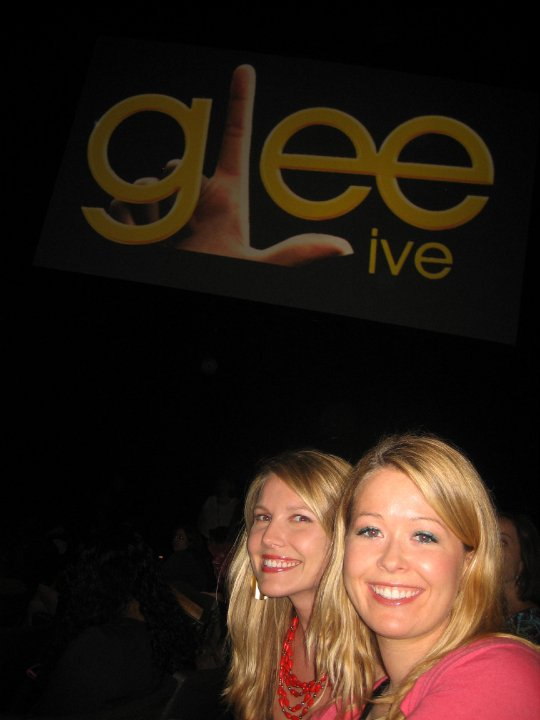 Glee Nadine and Robin