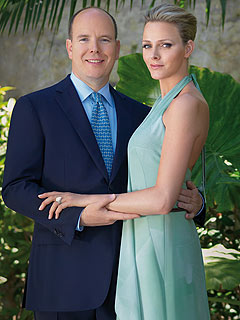 Prince Albert of Monaco Charlene Wittstock engaged