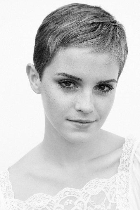 Emma Watson new haircut