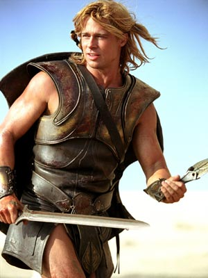Brad as Achilles