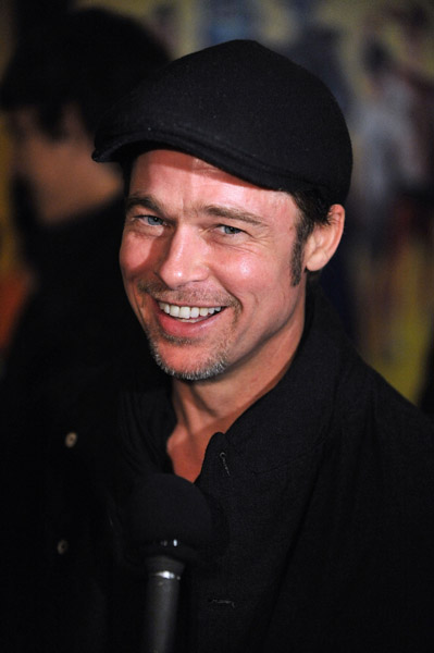 Brad Pitt at the premiere of his new movie Megamind