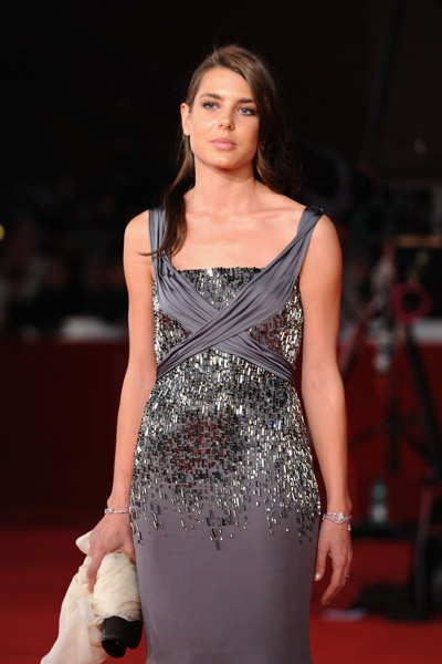charlotte casiraghi photos from rome film festival