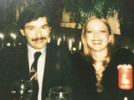 My mother and father in Baghdad, 1981