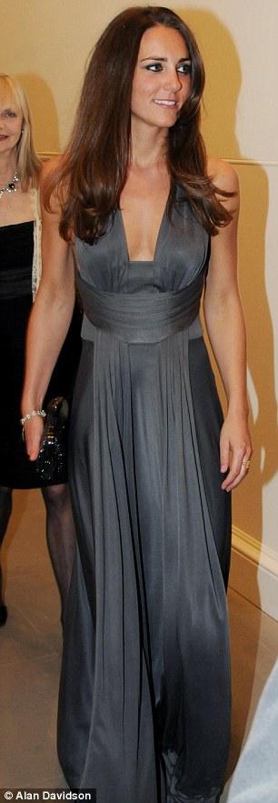 kate middleton in sheer dress. Kate Middleton wearing her