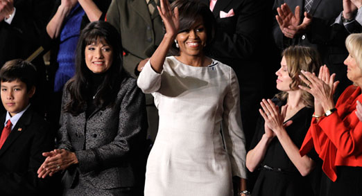 Michelle-Obama-State-of-the-Union-dress-Rachel-Roy
