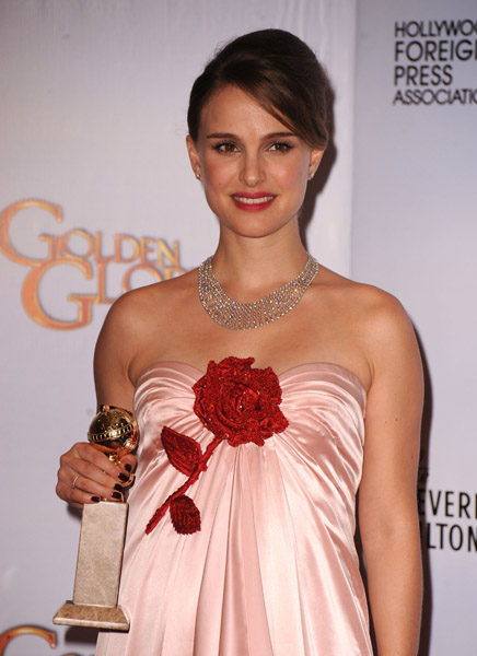 What did you think of Natalie Portman's Viktor and Rolf Golden Globes dress?