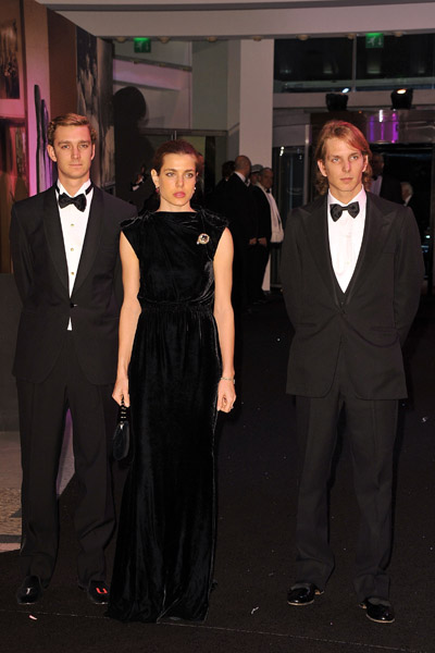 charlotte casiraghi of monaco. pierre casiraghi of monaco.