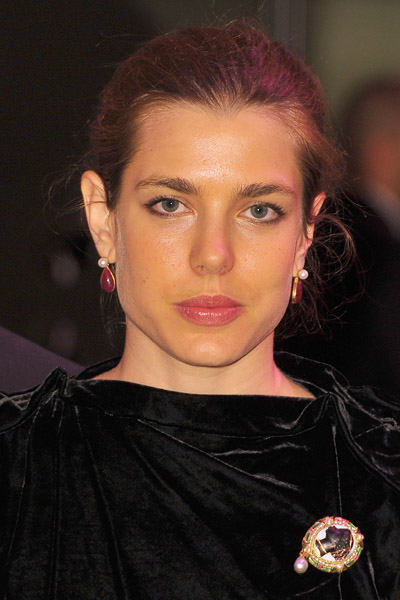 Charlotte Casiraghi co-hosts the Monaco Rose Ball 2011