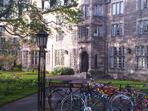 prince william st andrews 2011. St. Salvator#39;s Hall (known as