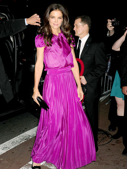 Katie Holmes at the 56th Annual Drama Desk Awards