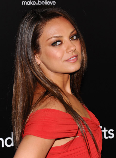 Mila Kunis at the Friends With Benefits premiere