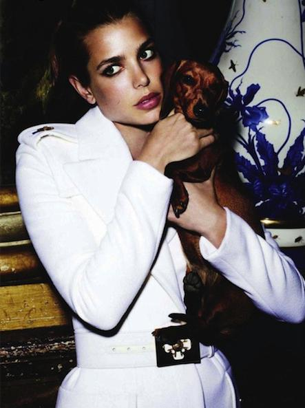 Charlotte Casiraghi French Vogue