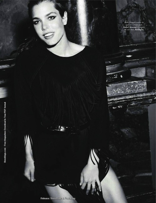 Charlotte Casiraghi Vogue Paris 2