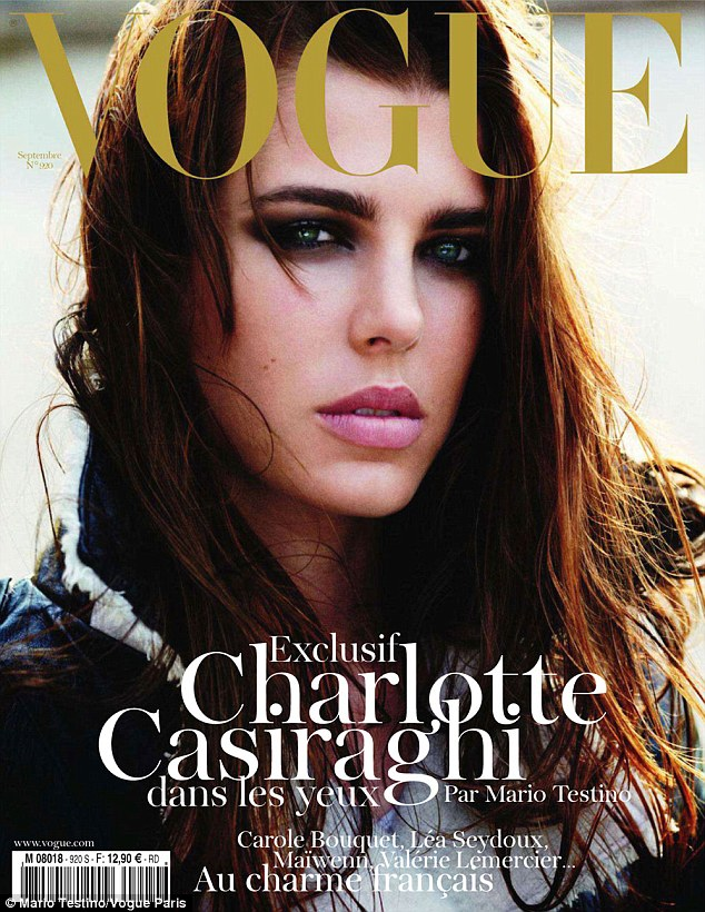 Charlotte Casiraghi Vogue Paris September