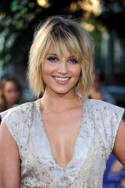 Dianna Agron Hair Glee