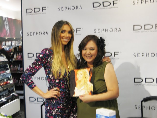 Gloria Yang and Guiliana Rancic
