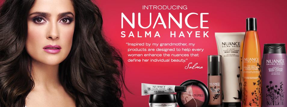Nuance Salma Hayek at CVS - Nadine Jolie Courtney Salma Hayek Nuance