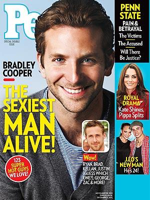Bradley Cooper is People's Sexiest Man Alive 2011