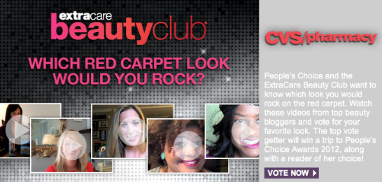 CVS Beauty Club Peoples Choice Awards Bloggers