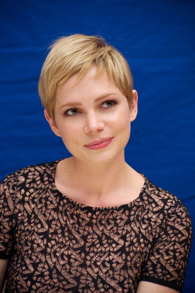 Michelle Williams at a press conference for My Week With Marilyn (WireImage/Vera Anderson)