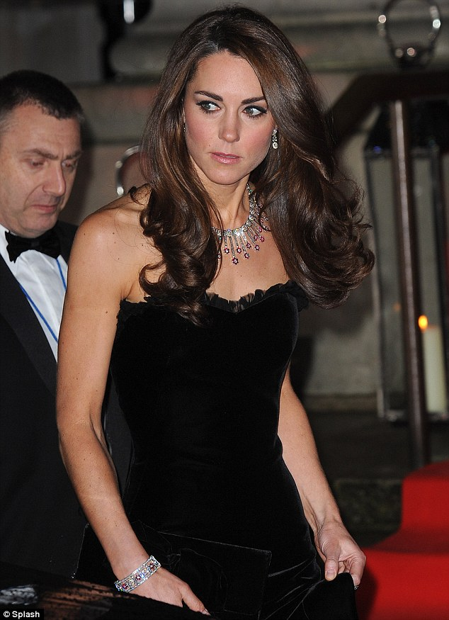 Kate Middleton AlexanderMcQueen hair