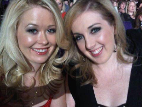 Nadine Jolie and Jamie Stone at Miss America