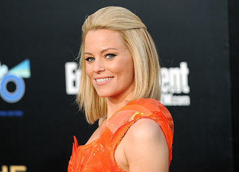 Elizabeth Banks at the Hunger Games premiere