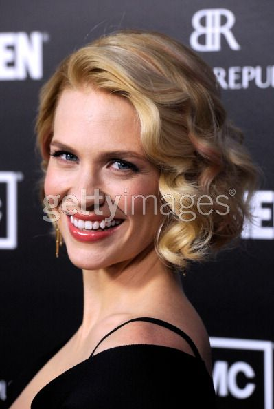January Jones at the Mad Men Premiere