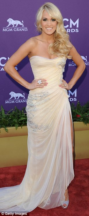 Carrie Underwood at Academy of Country Music Awards