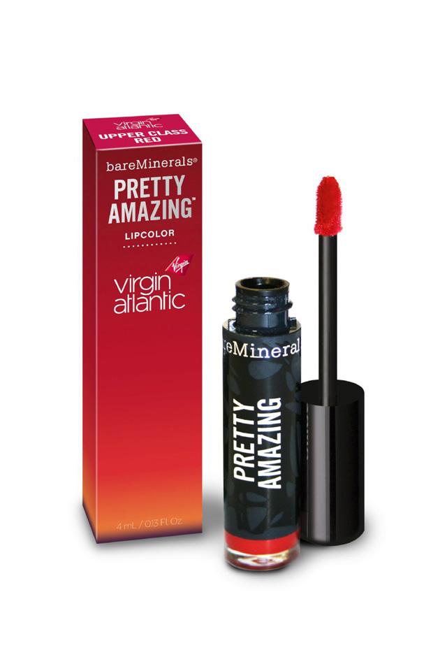 bare minerals pretty amazing lip color red