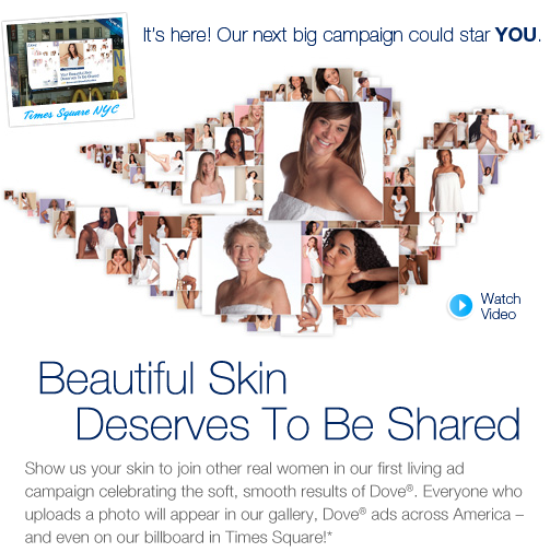 Dove Show Us Your Skin Campaign