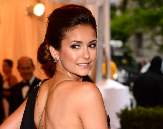 Nina Dobrev at the Met Costume Institute Gala