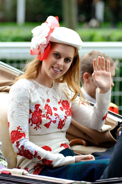 Princess Beatrice at Ascot 2012 Ladies' Day