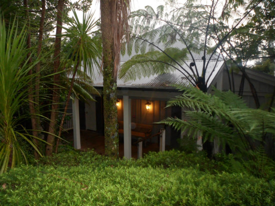 My guest cottage at Kauri Cliffs, overlooking the Pacific Ocean