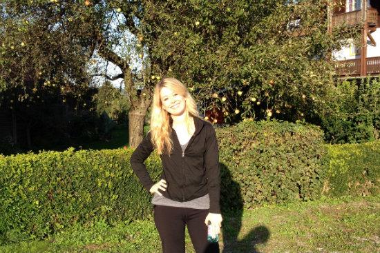 Nadine Jolie in Austria