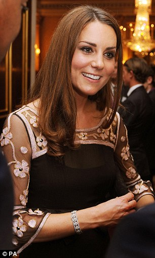Duchess-Kate-Olympics-reception-black-Alice-Temperley