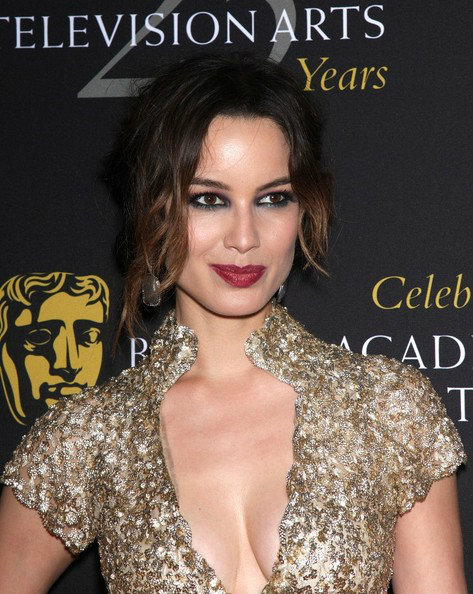 Berenice Marlohe makeup at BAFTA awards
