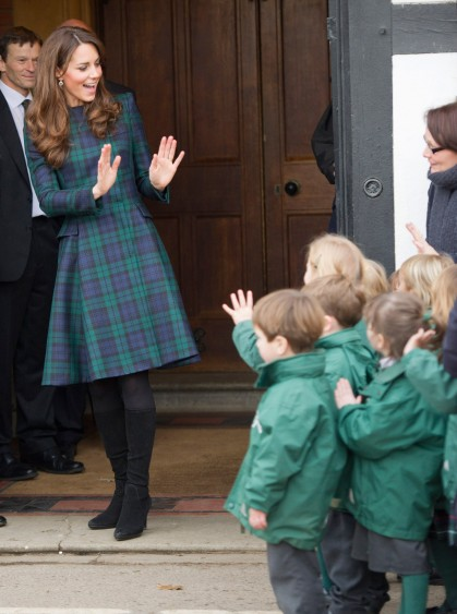 Duchess Kate is pregnant