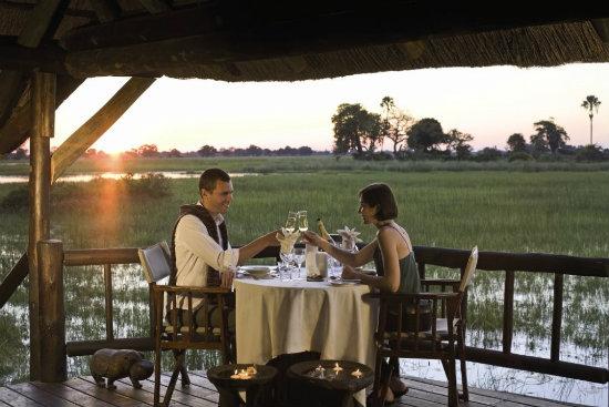 Eagle Island Camp in Botswana on the Okavango Delta