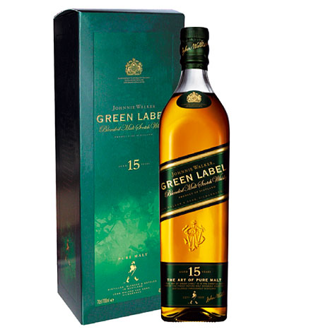 Johnnie Walker Green Label scotch