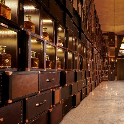 Johnnie Walker House in Beijing: VIP locker
