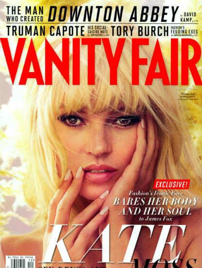 Kate Moss Vanity Fair cover