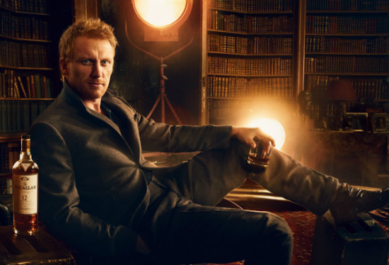 Macallan's Annie Leibovitz photoshoot with Kevin McKidd