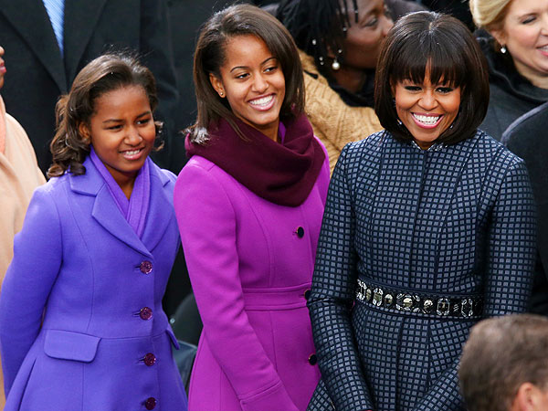 Michelle-Sasha-Malia-Obama-coats