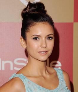 Nina Dobrev looks like a beauty ballerina at the Golden Globes