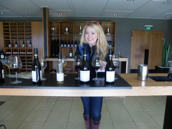 Wither Hills wine tasting in New Zealand