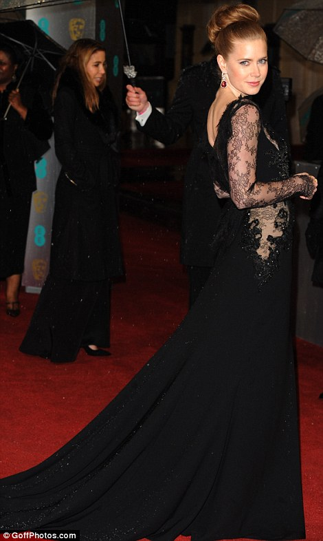 Amy Adams at the BAFTA awards